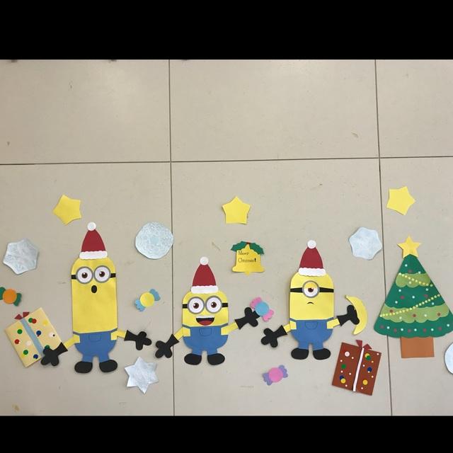 クリスマス 壁面飾り イラスト