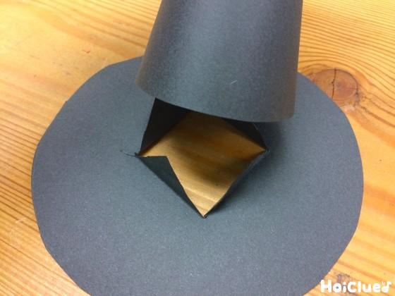 帽子を作った写真