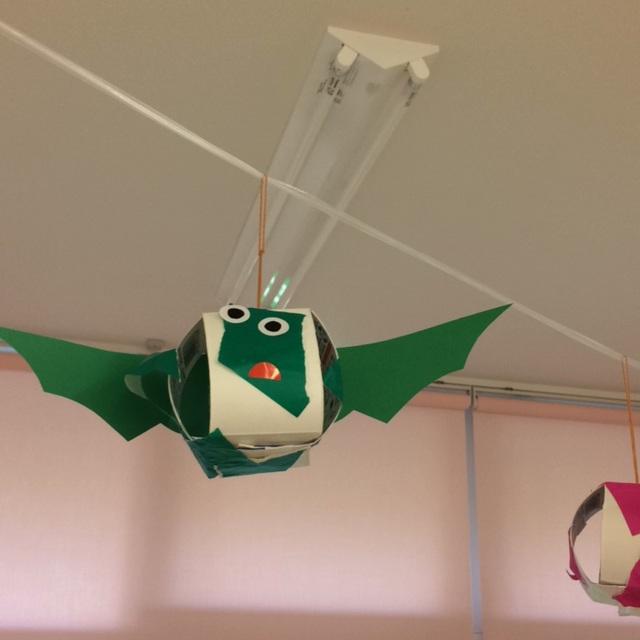 【アプリ投稿】【ハロウィンのコウモリ】