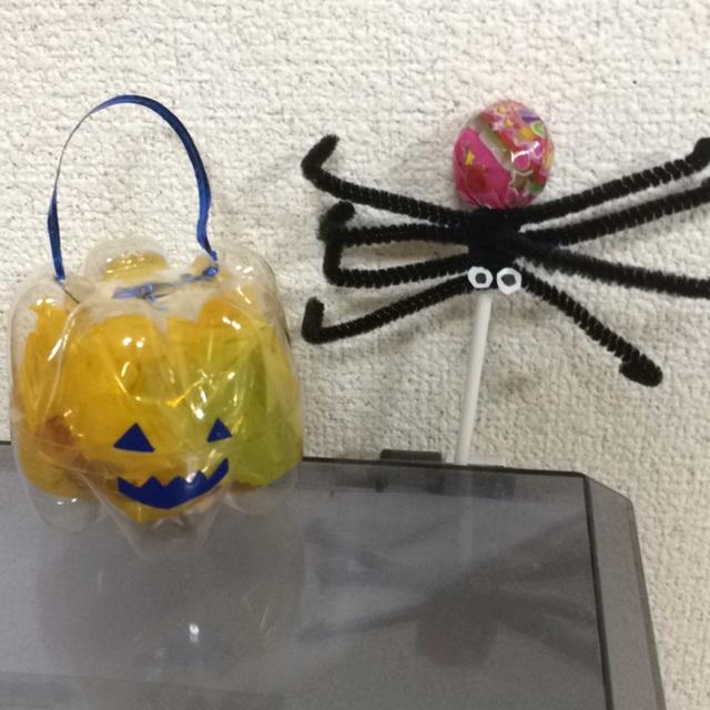 【アプリ投稿】ハロウィン ジャックオーランタンとクモ