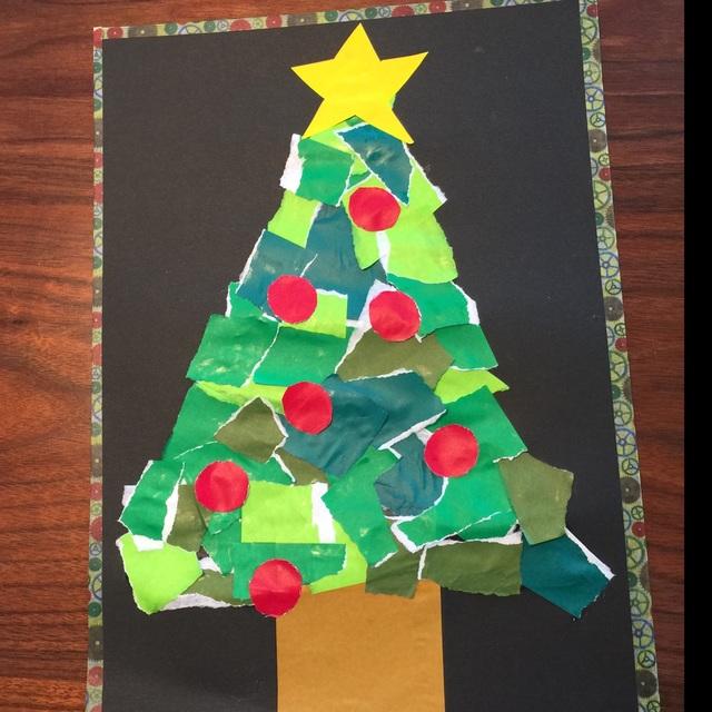 【アプリ投稿】ビリビリクリスマスツリー