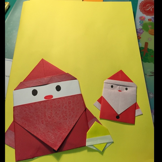 【アプリ投稿】折り紙サンタ