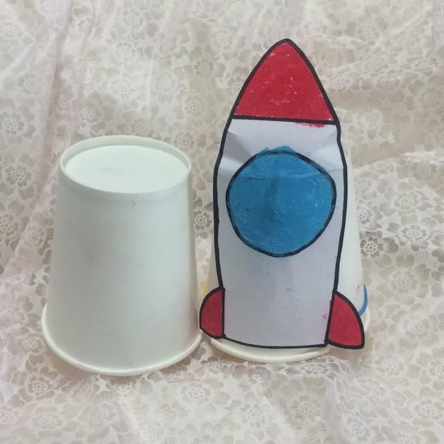 【アプリ投稿】紙コップロケット