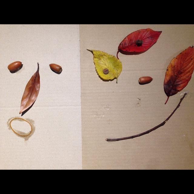【アプリ投稿】【秋の素材でおえかき遊び】
