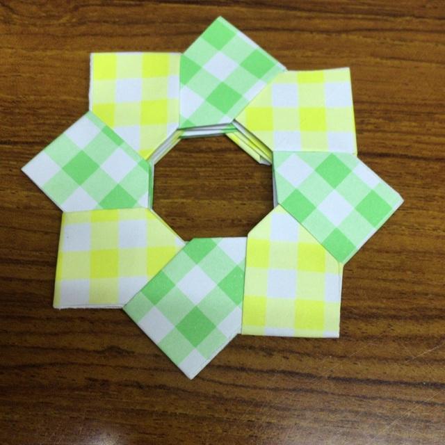 【アプリ投稿】【8枚でつくる折り紙】