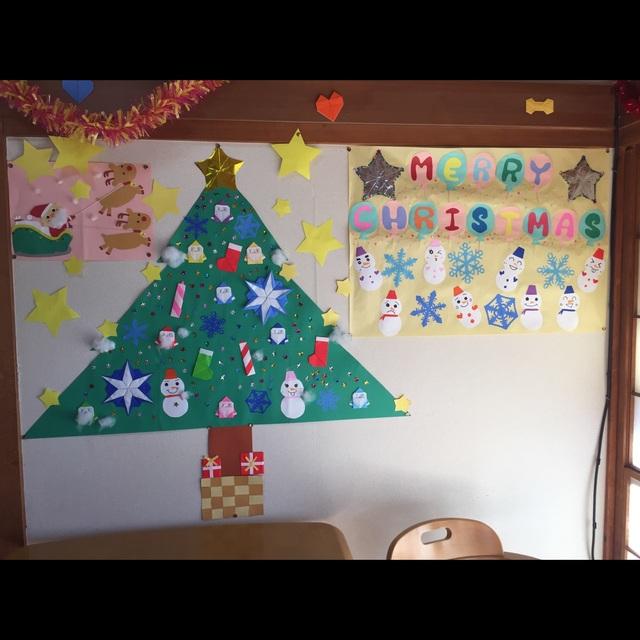 【アプリ投稿】クリスマ壁面
