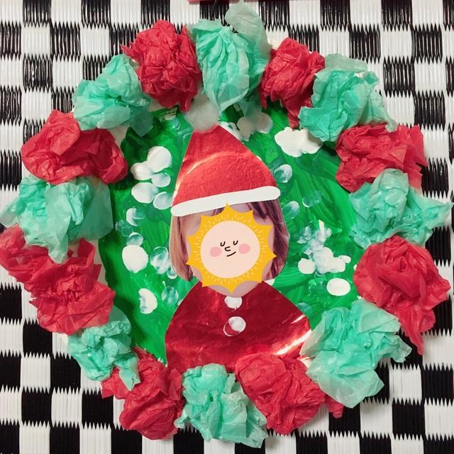 【アプリ投稿】【クリスマスリース】