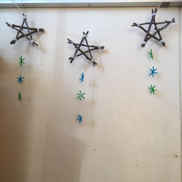 【アプリ投稿】✳︎小枝を使った星