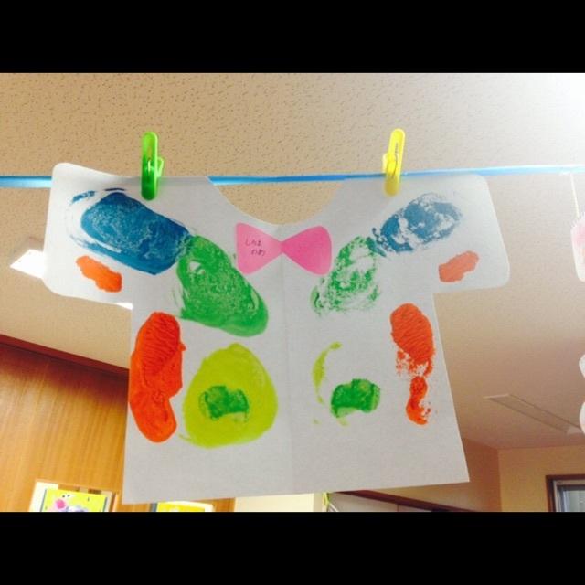 【アプリ投稿】3歳児製作