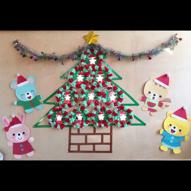 【アプリ投稿】【リースでクリスマスツリー】