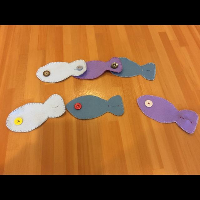 【アプリ投稿】お魚のボタンつなぎ