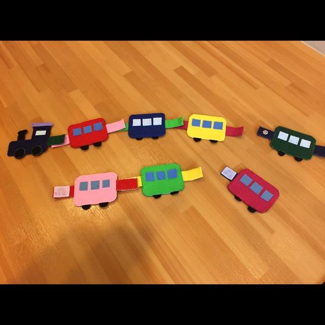 【アプリ投稿】電車のスナップ、マジックテープつなぎ