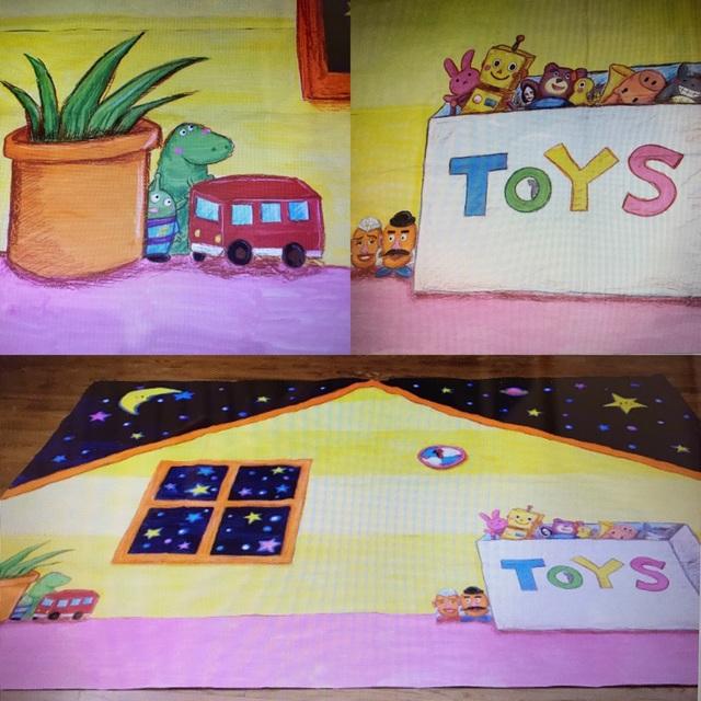 【アプリ投稿】【おもちゃのチャチャチャ・背景画】