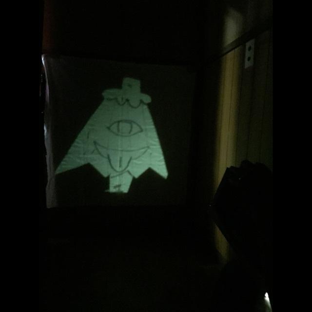 【アプリ投稿】傘おばけ