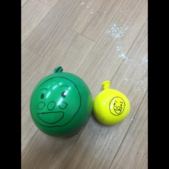 【アプリ投稿】小麦粉風船