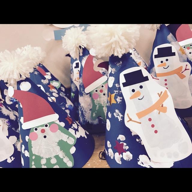 【アプリ投稿】【クリスマスのとんがり帽子】