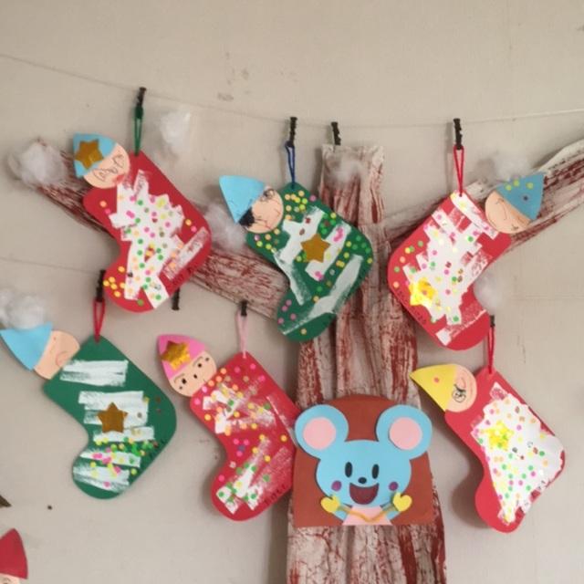 【アプリ投稿】2歳児 12月靴下