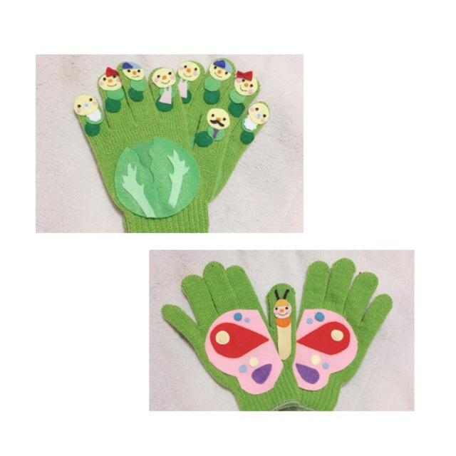 【アプリ投稿】【キャベツの中から 手袋シアター】