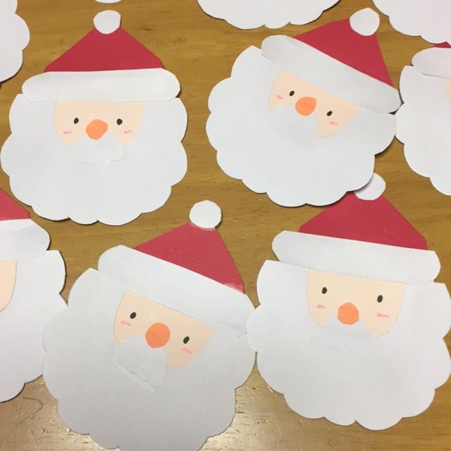 【アプリ投稿】サンタクロース(ツリー製作のかざり)