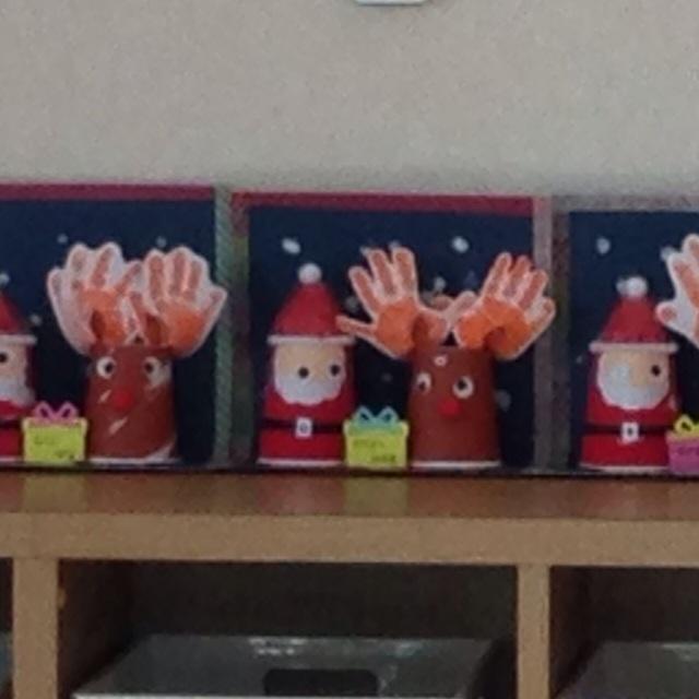 【アプリ投稿】クリスマス製作0歳児