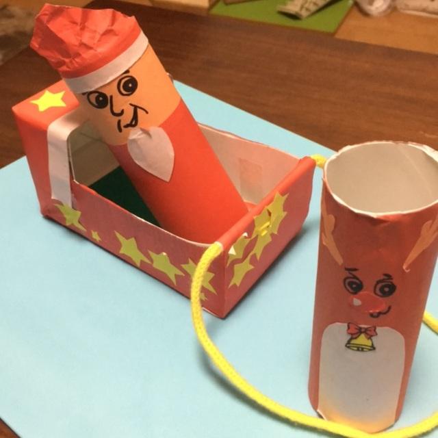 【アプリ投稿】【サンタさんとトナカイさんのそり】