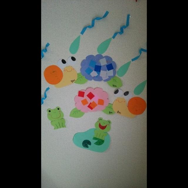 【アプリ投稿】☆1歳児☆6月の製作