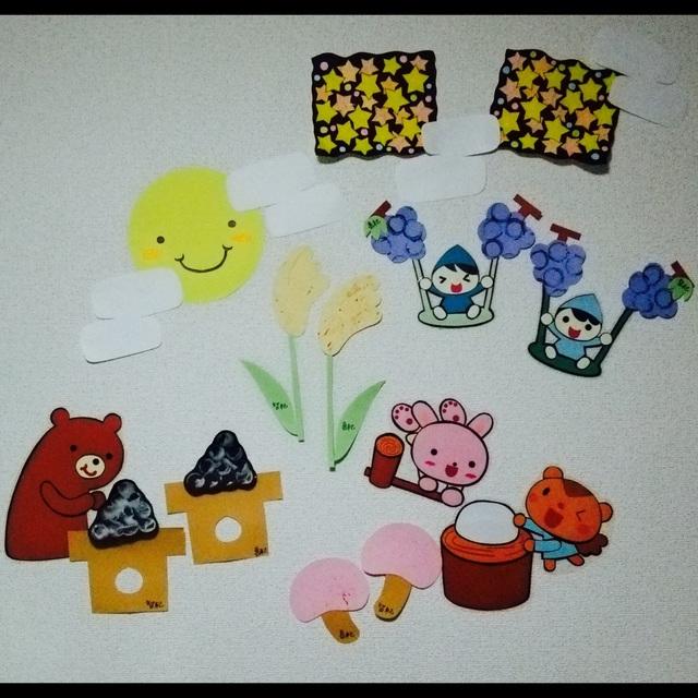 【アプリ投稿】☆1歳児☆9月の製作