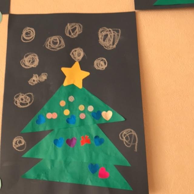 【アプリ投稿】クリスマスツリー 2歳児