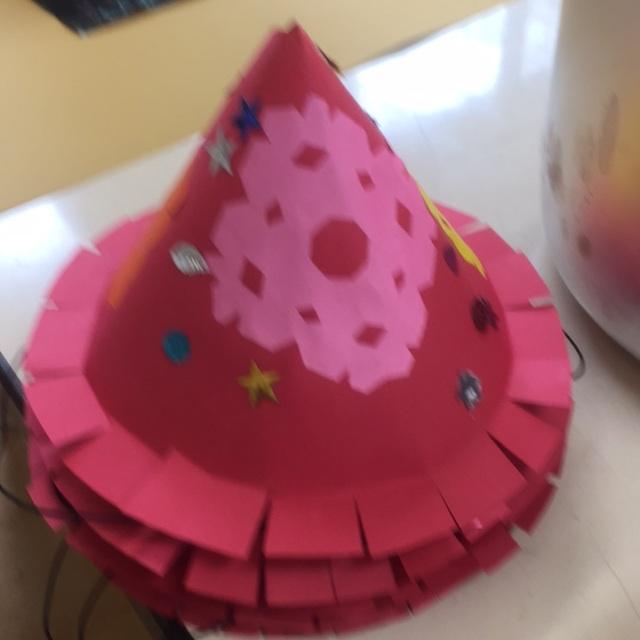 【アプリ投稿】とんがり帽子・5歳児