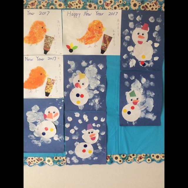 【アプリ投稿】【雪だるま】1、2歳児