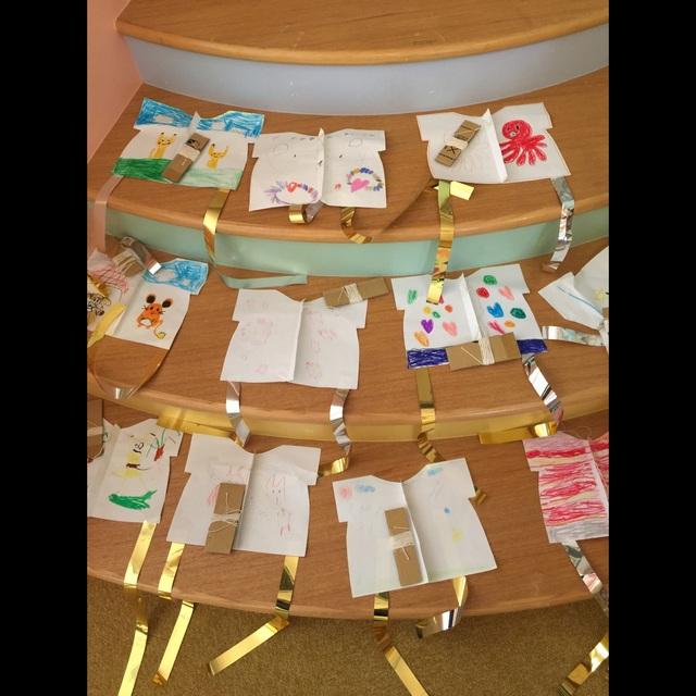 【アプリ投稿】【子どもたちが作った凧達】
