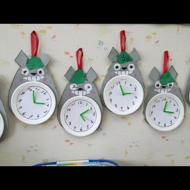 【アプリ投稿】トトロの時計づくり