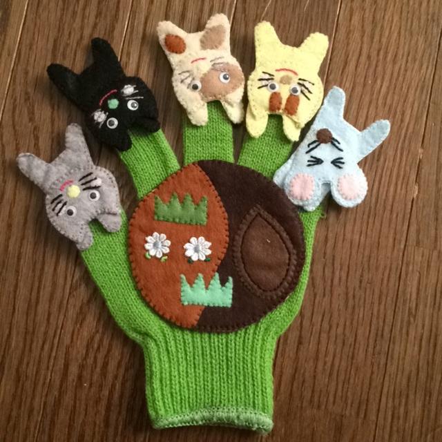【アプリ投稿】手袋シアター「一丁目のどら猫」