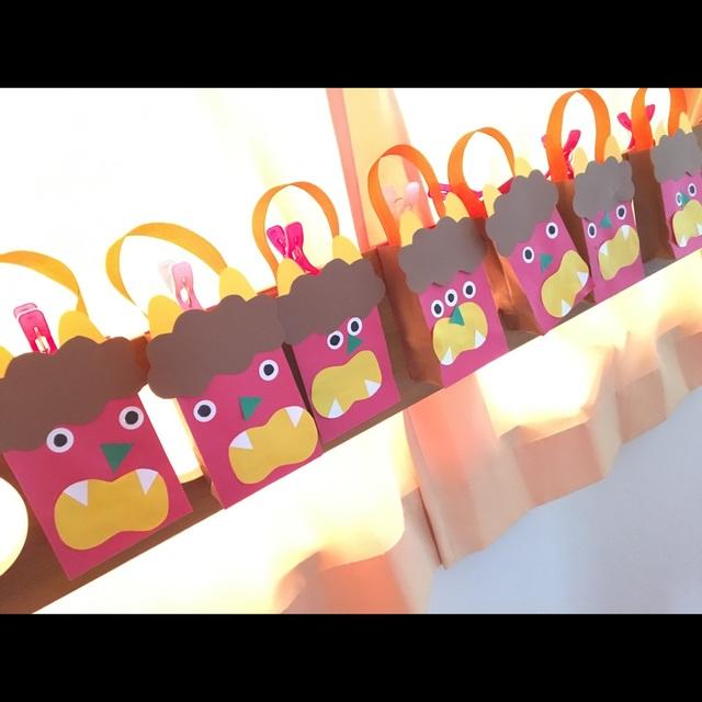 【アプリ投稿】「まめ持ち帰り袋」1歳児クラス