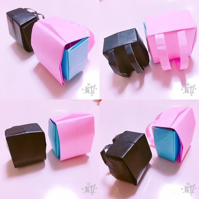 【アプリ投稿】折り紙のランドセル