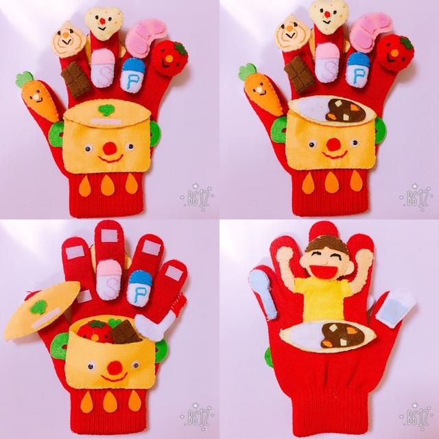 【アプリ投稿】手袋シアター『カレーライス』