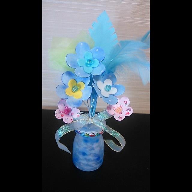 【アプリ投稿】手作りの花飾り