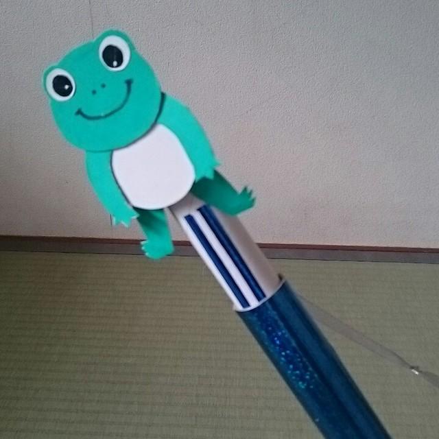 【アプリ投稿】〈飛び出すカエルくん〉