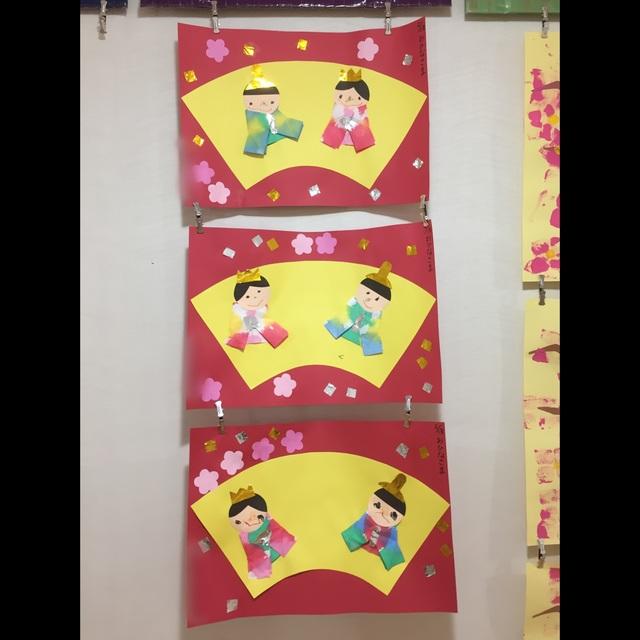 【アプリ投稿】3歳児ひなまつり製作
