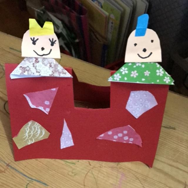 【アプリ投稿】4歳児ひなまつり