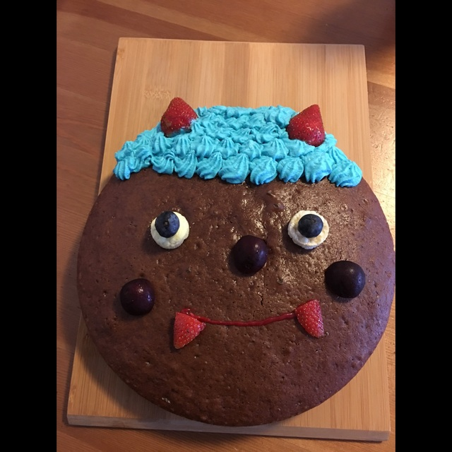 【アプリ投稿】鬼のケーキ