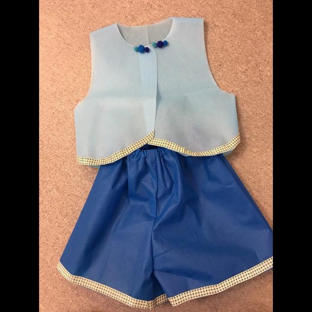 【アプリ投稿】2歳児 三匹のこぶたの衣装です♪