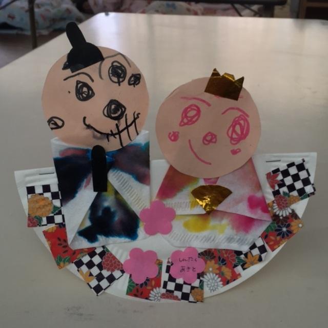 【アプリ投稿】3歳児 ひな人形