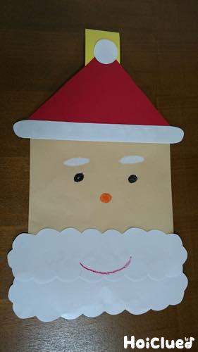 封筒サンタバック〜クリスマスを盛り上げるアイディア製作遊び〜