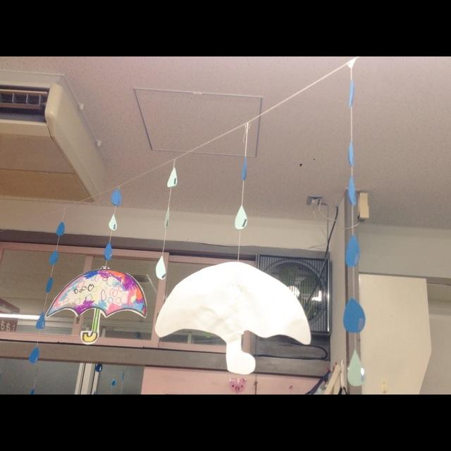 【アプリ投稿】梅雨の装飾