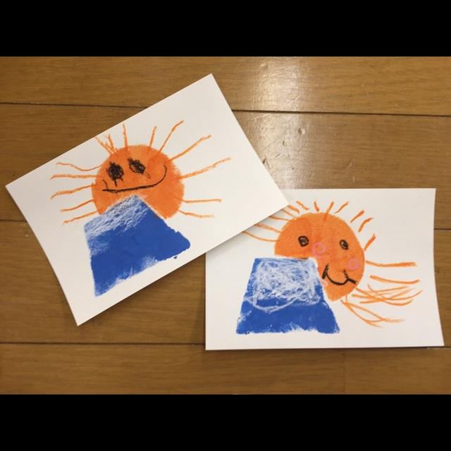 【アプリ投稿】★3歳児★年賀状作り!