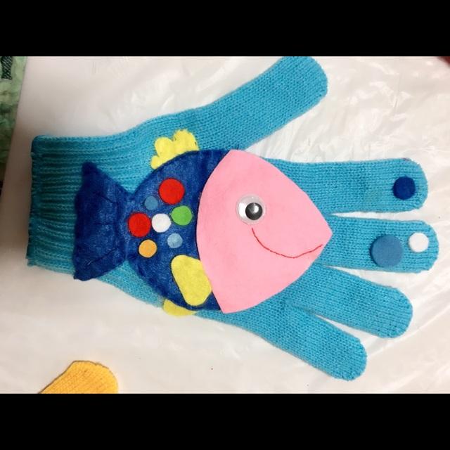 【アプリ投稿】手袋シアター【魚がはねて】