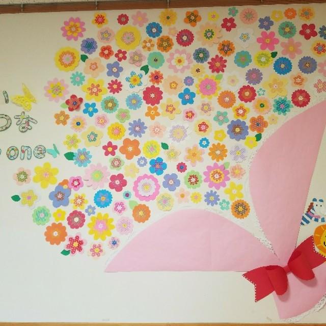 【アプリ投稿】卒園式壁面装飾