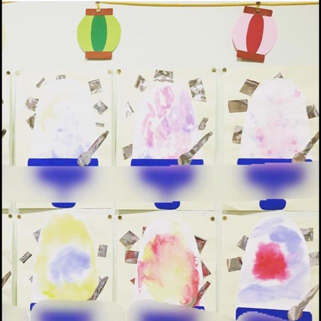 【アプリ投稿】2歳児♡かき氷