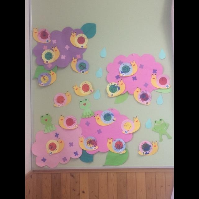 【アプリ投稿】6月壁面 1歳児